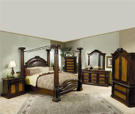 Coaster 201201KWSET4 Montecito California King Bedding Sets