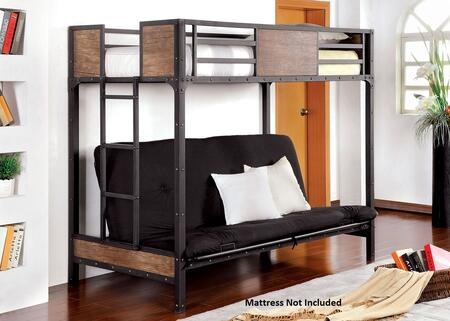 Furniture of America CMBK029TS Clapton Series  Twin Size Bed