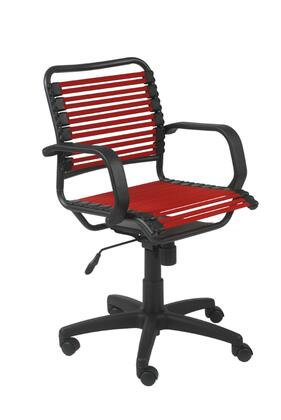 "Euro Style 02572RED 25"" Contemporary Office Chair"