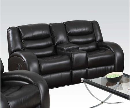 Acme Furniture 50743 Dacey Series Bonded Leather Reclining Loveseat