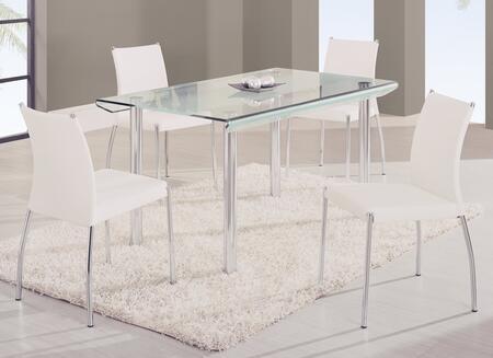Global Furniture USA A818LDT1513DCWH Global Furniture USA Di
