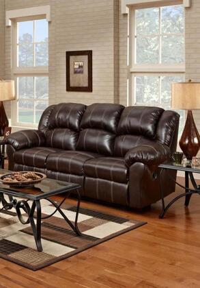 Chelsea Home Furniture 1003BB Verona IV Series Reclining Bonded Leather Sofa
