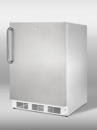 "Summit VT65ML7CSSADA 24""  Stainless Steel Counter Depth Freezer with 3.5 cu. ft. Capacity"