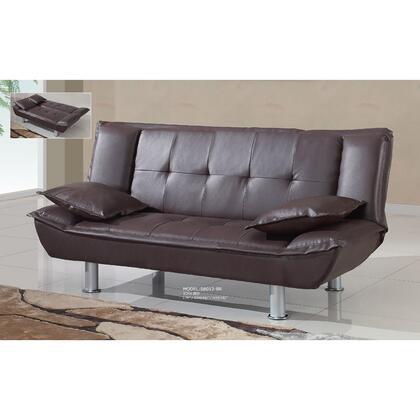 Global Furniture USA SB012BR  Microfabric Sofa
