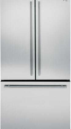 Monogram ZWE23ESHSS 23.1 Cu. Ft. Counter-Depth French-Door Refrigerator