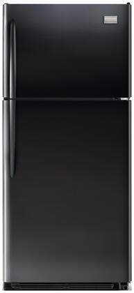 Frigidaire FGHT2134KB Gallery Series Freestanding Top Freezer Refrigerator with 20.61 cu. ft. Total Capacity 3 Glass Shelves 5.26 cu. ft. Freezer Capacity