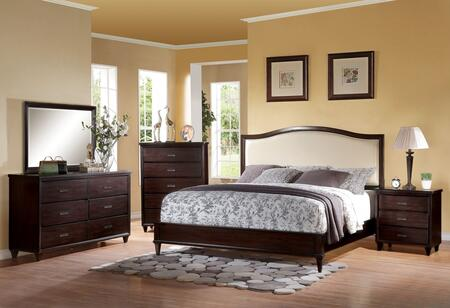 Acme Furniture 22814CK5PC Raleigh Bedroom Sets