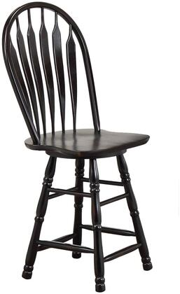 Sunset Trading DLUB24AB Sunset Selections Series  Bar Stool