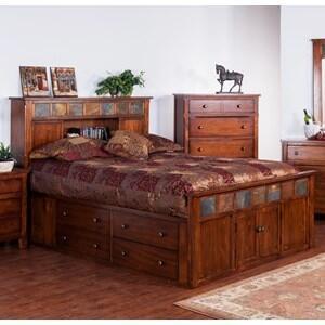 Santa Fe Eastern King Bed