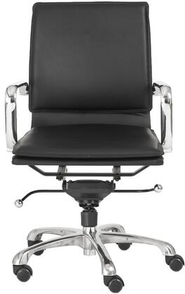 """Euro Style 01263BRN 22.75"""" Contemporary Office Chair"""