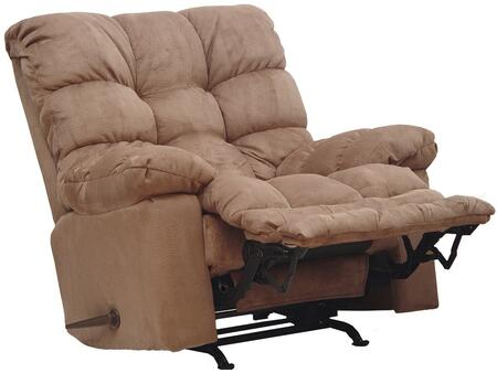 "Catnapper Magnum Collection 546892 46"" Chaise Rocker Recliner with Sensate Heat, Massage, ""X-TRA Comfort"" Extended Ottoman, Magazine Pocket, Pillow Top Arms and Fabric Upholstery"