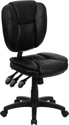 "Flash Furniture GO930FBKLEAGG 19.75"" Contemporary Office Chair"
