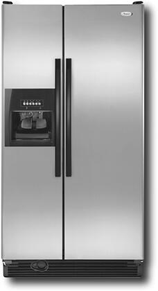 Whirlpool ED2GVEXVD  Side by Side Refrigerator with 21.7 cu. ft. Capacity in Stainless Steel