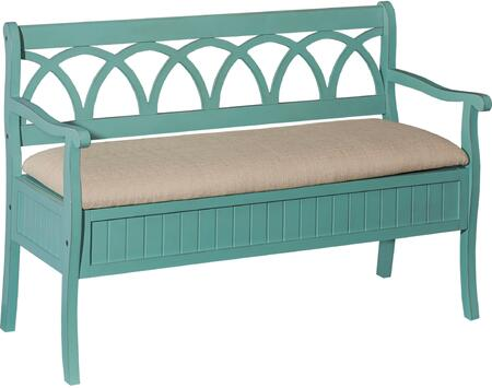 Powell D1017A16T Elliana Series Accent  MDF Fabric Bench