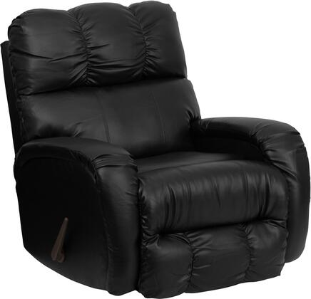 Flash Furniture AM98509072GG Contemporary Bentley Series Contemporary Bonded Leather Wood Frame Rocking Recliners
