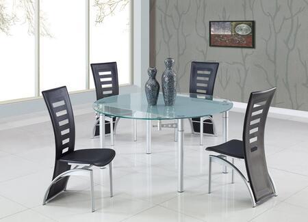 Global Furniture USA D135DTD290DCBL5PCSET Dining Room Sets