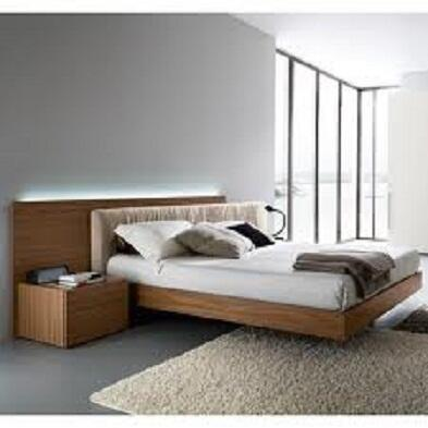 Rossetto T411604375N29 Edge Series  King Size Platform Bed