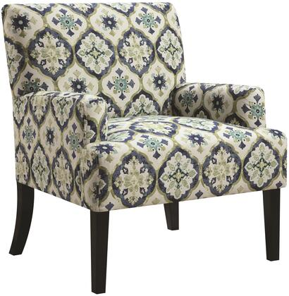 Coaster 902622 Accent Seating Series Armchair Fabric Wood Frame Accent Chair