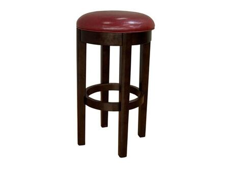 AAmerica PRSES362K Parson Series Residential Leather Upholstered Bar Stool