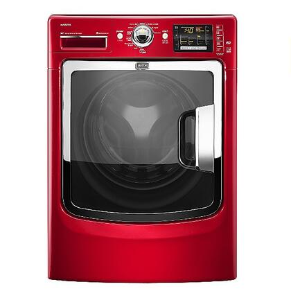 Maytag MHW6000XR Maxima Series 4.3 cu. ft. Front Load Washer, in Red