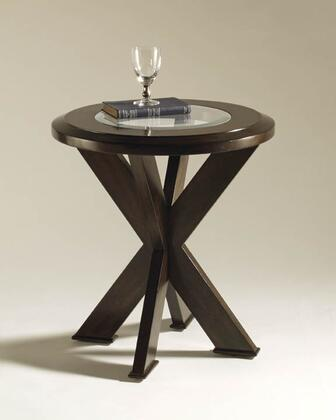 Magnussen T125305 Roxboro Series Modern Round End Table