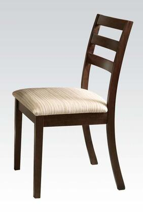 Acme Furniture 00869 Tacoma Series Transitional Fabric Wood Frame Dining Room Chair