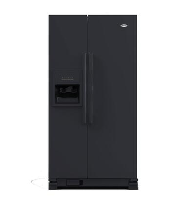 Whirlpool WSR25D2RYB Freestanding Side by Side Refrigerator