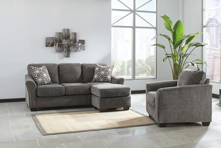 Milo Italia MI8746SCCSLAT Dwayne Living Room Sets