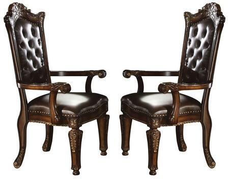 Acme Furniture 60004 Vendome Series Traditional PU Wood Frame Dining Room Chair