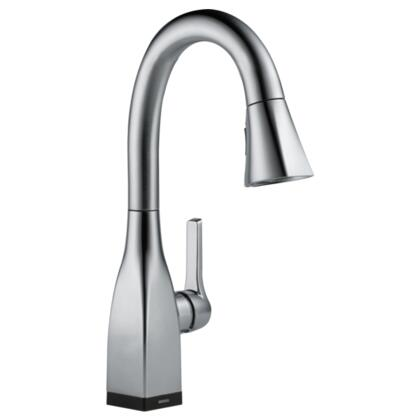 Mateo  9983T-AR-DST Delta Mateo: Single Handle Pull-Down Bar / Prep Faucet with Touch2O Technology in Arctic Stainless