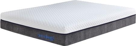 Sierra Sleep M826 11 Inch Innerspring Collection M826 X Size Mattress with Mygel Foam, Pocket Coil System and Removable Cover in White