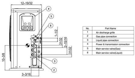 Lg Mini Split Wiring Diagram Multi Lsn090hsv4 Mini Auto