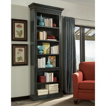 Ambella 02212800001 Cavalier Series Wood 6 Shelves Bookcase