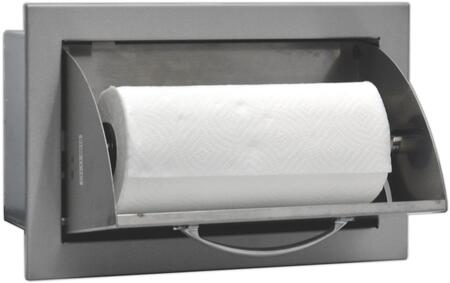 Angled View of the Paper Towel Holder, opened