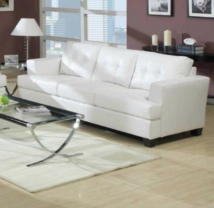 Yuan Tai 1082SW  Stationary Bonded Leather Sofa