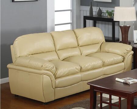 Meridian 604KHS Soho Series Stationary Leather Sofa