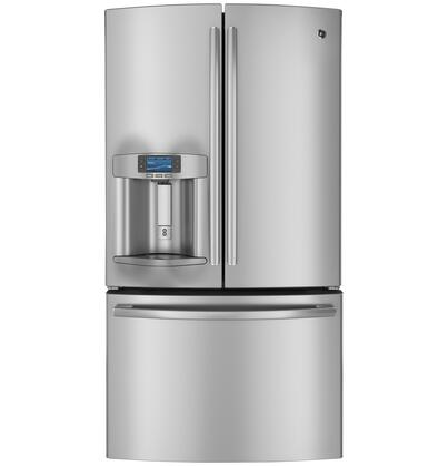 GE Profile PYE23PSDSS French Door Refrigerator | Appliances Connection