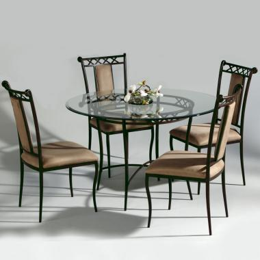Chintaly 0724DT5PIECESET Chintaly Dining Room Sets