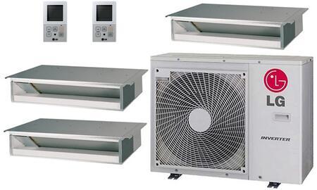 LG 704531 Triple-Zone Mini Split Air Conditioners