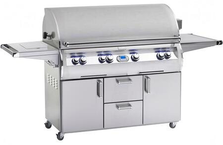"FireMagic E1060S4L1P62 Freestanding 93"" Liquid Propane Grill, in Stainless Steel"