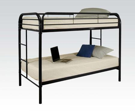 Acme Furniture 02188BK Thomas Series  Twin Size Bunk Bed