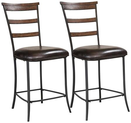Hillsdale Furniture 4671825 Cameron Series Residential Vinyl Upholstered Bar Stool