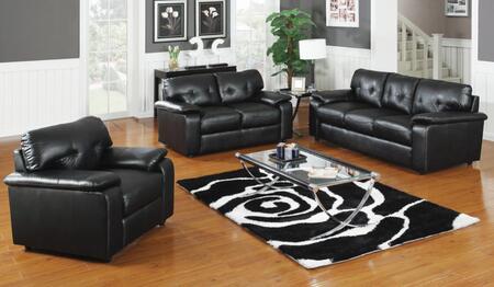 Yuan Tai PA3002BKSET3  Living Room Set
