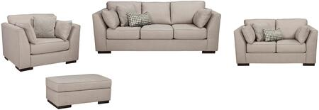 Milo Italia MI8540SLCOALLO Georgia Living Room Sets