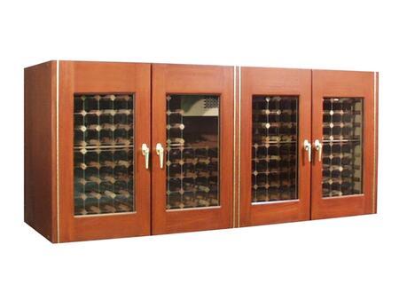 "Vinotemp VINO400CREDGJB 88"" Wine Cooler"