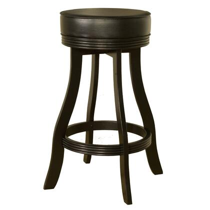 "American Heritage Designer Series 106606 30"" Contemporary Backless Bar Stool With Thick Comfortable Seat Cushion, Full Bearing Swivel, and Floor Glides"