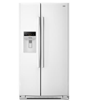 Maytag MSB27C2XAW Freestanding Side by Side Refrigerator