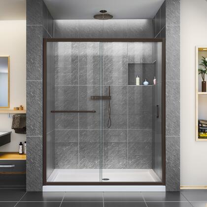 Infinity Z Shower Door 60 ORB