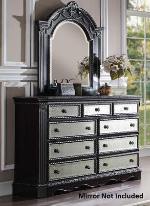 Acme Furniture 20925 Athena Silver Series Wood Dresser