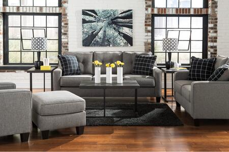Milo Italia MI9881SLACOCHAR Lorena Living Room Sets